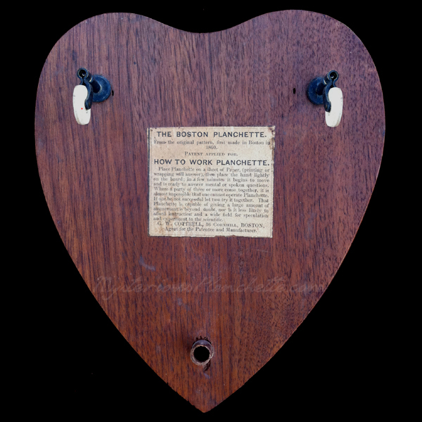 The Mysterious Planchette | Gallery | American Planks