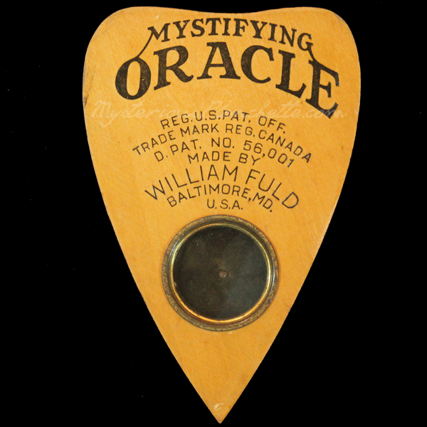 The Mysterious Planchette Gallery Talking Board